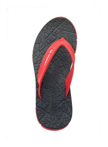 Sandal Connec Hammer Merah/Hitam (Men)